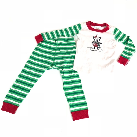 disney hanna andersson mickey mouse christmas pjs - Mickey Mouse Christmas Pajamas